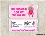 Love Bug Valentine's Day Wrapper