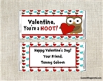 Valentine's Day Candy Wrapper - Owl