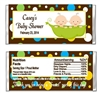 Baby Shower Candy Wrapper - Peas in a Pod