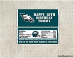 Philadelphia Eagles Candy Wrapper Party Favors