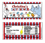 Dr. Seuss Baby Shower Candy Wrapper Party Favor