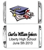 Graduation Mini Candy Wrapper - Cap & Diploma