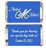 Wedding Mini Candy Wrapper - Initial