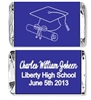 Graduation Mini Candy Wrapper - Cap & Dipolma Outline