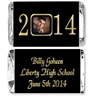 Graduation Mini Candy Wrapper - Year with Photo