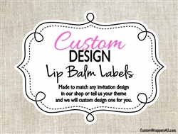 Custom Lip Balm / Chapstick labels