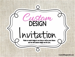 Custom Design Personalized Invitation