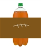 Football Soda Bottle Label - Football