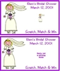 Bridal Shower Scratch Off - Bride
