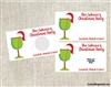 Christmas Cocktail Party Scratch Off Ticket