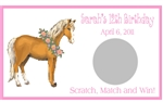 Birthday Scratch Off - Horse