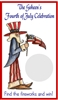 Fourth (4th) of July Scratch Off - Uncle Sam