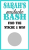 Baby Shower Scratch Off - Mustache Bash
