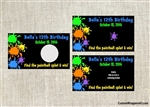 Birthday Scratch Off - Paintball