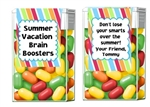 End of the School Year Tic Tacs - Brain Boosters