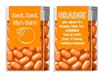 End of the School Year Tic Tacs - Orange You Glad