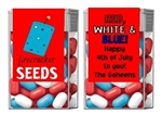Fourth (4th) of July Tic Tacs - Firecracker Seeds