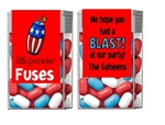 Fourth (4th) of July Tic Tacs - Firecracker Fuses
