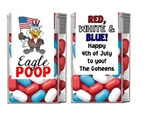Fourth (4th) of July Tic Tacs - Eagle Poop