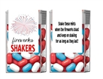 Fourth (4th) of July Tic Tacs - Fireworks Shakers