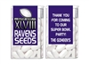 Super Bowl Tic Tacs - Team Seeds - Any Team (background color can be changed)