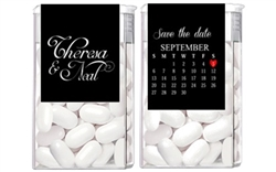 Engagement Tic Tacs - Save the Date