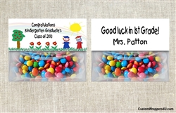 Graduation Bag Topper - Stick Kids