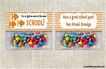 Back to school treat bag topper