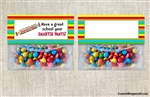 Back to School Treat Bag Topper - Smartie Pants