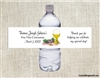 First Communion Water Bottle Label - Chalice & Rosary