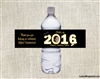 Graduation Water Bottle Label - Photo & Year (colors can be changed)