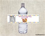 Birthday Water Bottle Label - Art