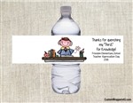 Teacher Appreciation water bottle labels