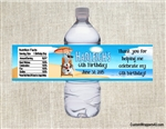 Frozen Olaf summer water bottle labels birthday party favors