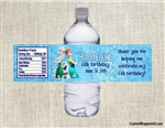 Frozen Fever Elsa, Anna, Olaf water bottle labels birthday party favors