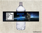 Call of Duty water bottle labels birthday party favors, COD birthday party