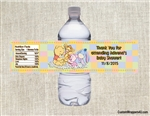 Winnie the Pooh and Friends water bottle labels birthday party favors, Winnie the Pooh baby shower, Winnie the Pooh birthday party