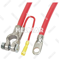 "04228<BR>BATTERY CABLES (RED 10"")"