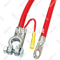 "04241<BR>BATTERY CABLES (RED 72"")"