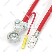 "04257<BR>BATTERY CABLES (RED 25"")"