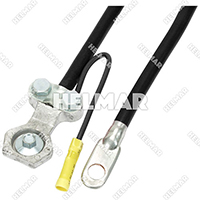 "04266<BR>BATTERY CABLES (BLACK 20"")"
