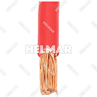 04618<BR>BATTERY CABLES (RED 25')
