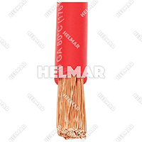 04624<BR>BATTERY CABLES (RED 25')