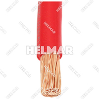 04630<BR>BATTERY CABLES (RED 25')