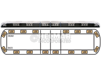 12-00003-E<br>LIGHTBAR (LED AMBER)