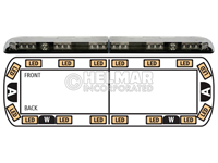 12-00004-E<br>LIGHTBAR (LED AMBER)