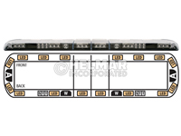 12-00006-E<br>LIGHTBAR (LED AMBER)