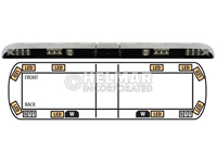 12-00007-E<br>LIGHTBAR (LED AMBER)