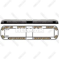 "12-20601-E<br>LIGHTBAR 54"" LED 12-24VDC"