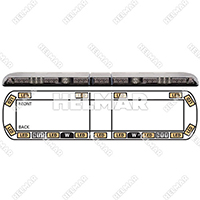 "12-20603-E<br>LIGHTBAR 54"" LED 12-24VDC"